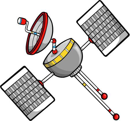 Satellite Vector Illustration Vector