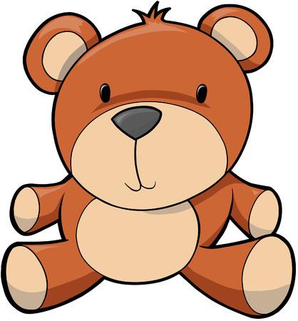 Teddy beer Vector illustratie