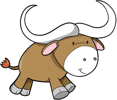 Ox ilustración vectorial  Ilustración de vector
