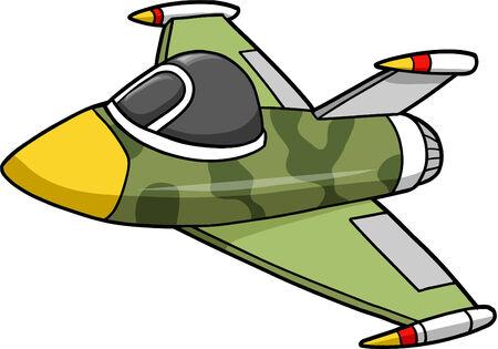jet fighter: Jet Fighter Vector Illustration Illustration