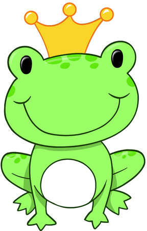 the frog prince: Frog Prince Illustrazione Vettoriale