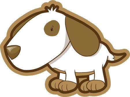 mutt: Cane illustrazione vettoriale  Vettoriali