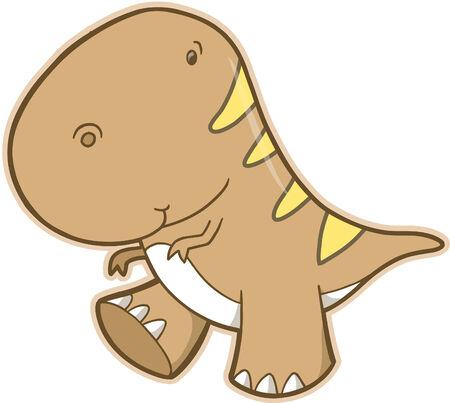 trex: T-Rex Dinosaur Vector Illustration