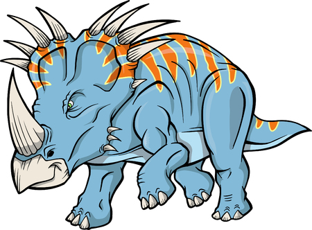 Dinosaur Vector Illustration Illustration