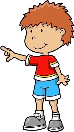 kid vector Illustration Stock Vector - 3273676
