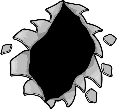 hole: Hole Vector Illustration