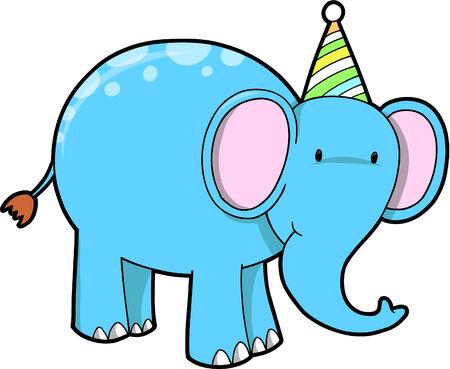 with illustration: Elephant Vector Illustration Illustration