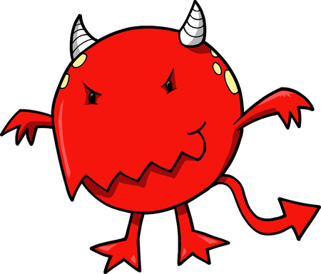 Devil Vector Illustration Vector