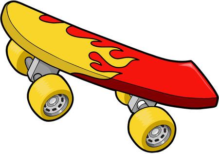 SkateBoard Vector Illustration Ilustracja