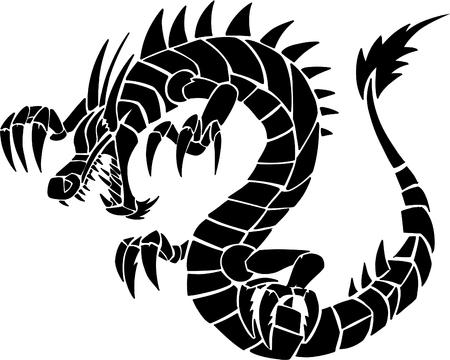 Dragon Vector Illustration Vector