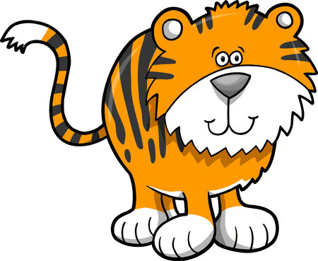 Tiger Vector Illustration Stock Vector - 3299754