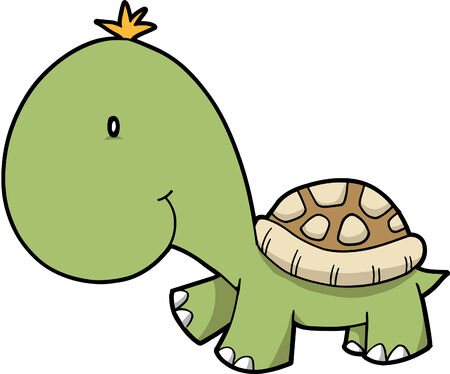 Turtle Vector Illustration