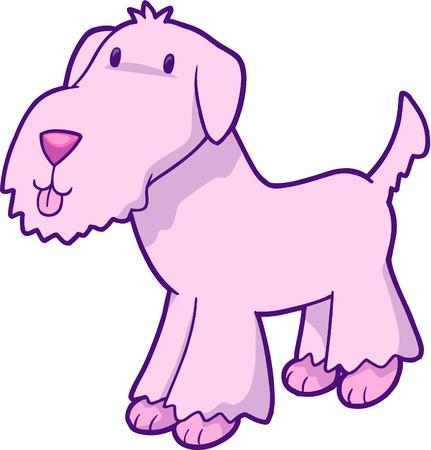 illustration: Cute Puppy Dog Vector Illustration