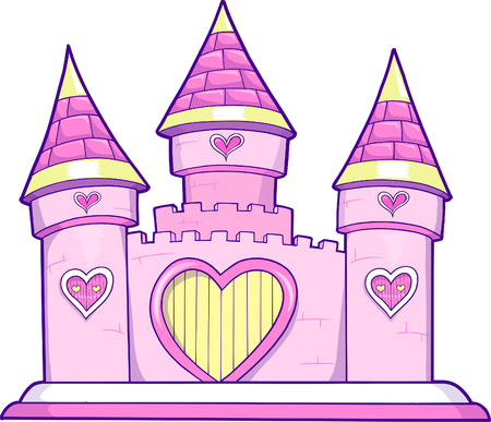 Castle Vector Illustration 向量圖像