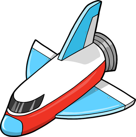 Spaceship Vector Illustration Vector