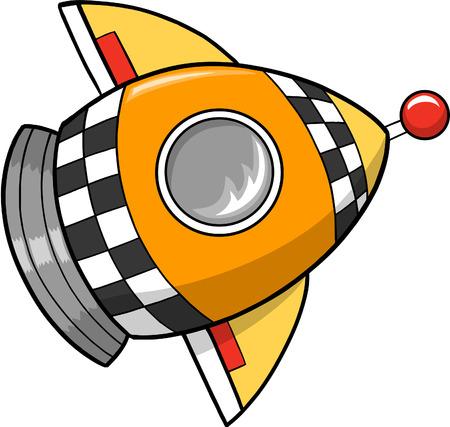 Rocket Vector Illustratie Stock Illustratie