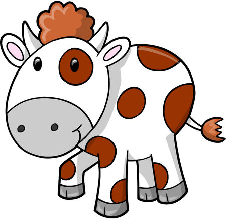 Cow vector Illustration Vector