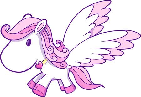 pegaso: Ilustraciones Vectoriales de Pegasus