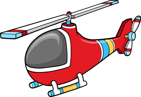 helicopters: helicopter Vector Illustration Illustration
