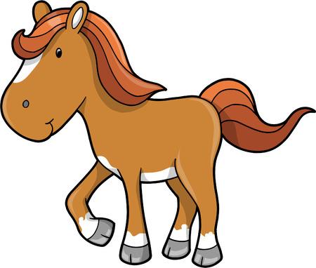 thoroughbred horse: Ilustraciones Vectoriales de caballo Vectores
