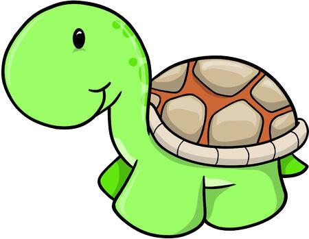Ilustraciones Vectoriales de tortuga Foto de archivo - 4792492