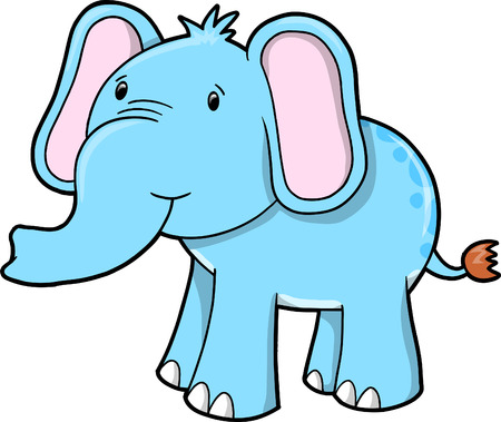 Elephant Vector Illustration Vector