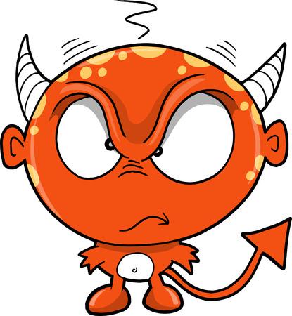 Monster Devil Vector Illustration Banco de Imagens - 4845096