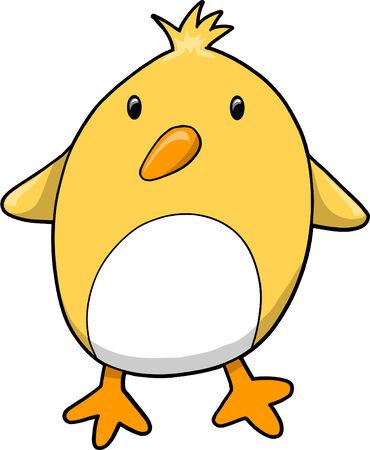 chick: Chick Bird Vector Illustration