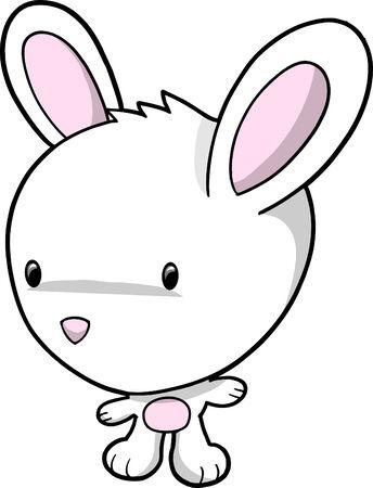 bunny rabbit: Bunny Rabbit Ilustraciones Vectoriales Vectores