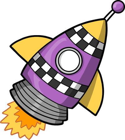 Rocket Vector Illustration Vector
