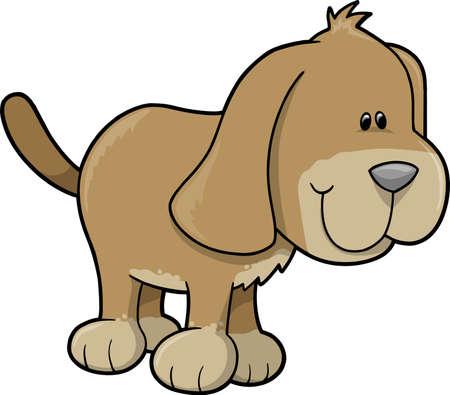 Dog Vector Illustration Vector