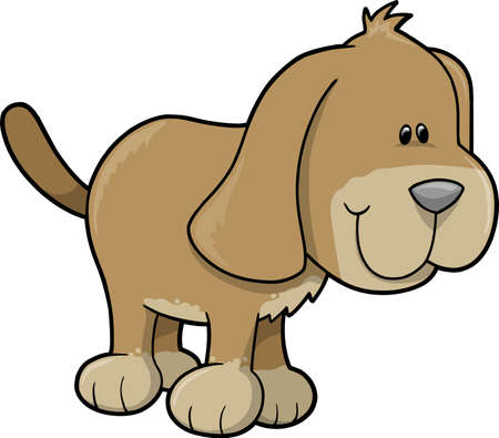 hounds: Dog Vector Illustration
