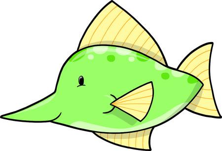 Ilustraciones Vectoriales de pez espada Foto de archivo - 4974320