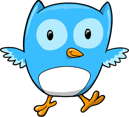 Blue Owl Illustration