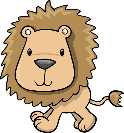 Lion Vector Illustration Vector