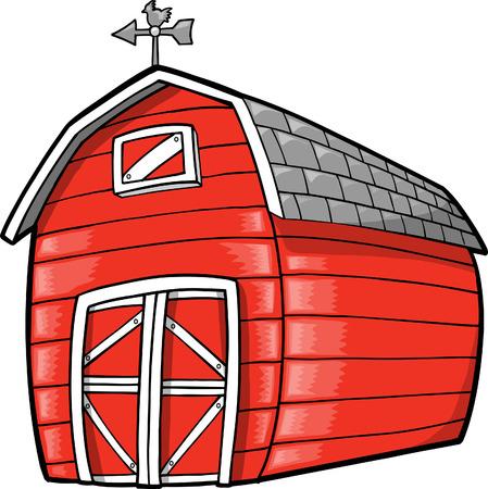 farm building: Barn Illustration