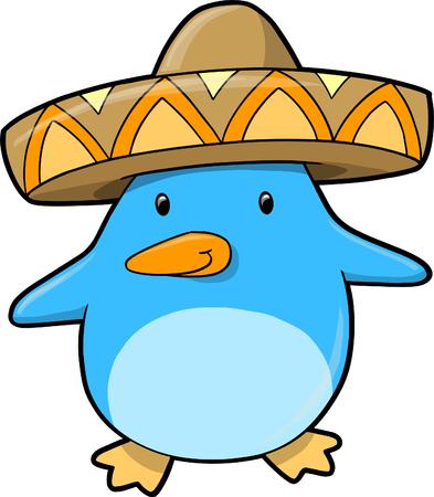 Cute Penguin Illustration Stock Vector - 6754536