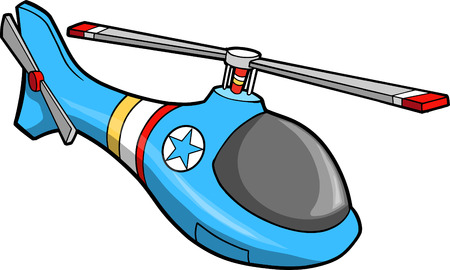 Cute Helicopter  Illustration 일러스트