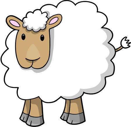 Moutons Lamb Vecteurs