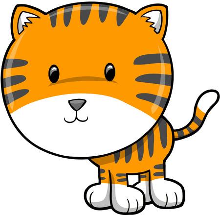 plains: Tiger  Illustration