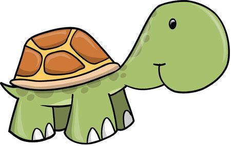 baby turtle: Baby Turtle  Illustration