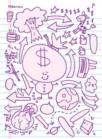 Doodle Sketch illustratie