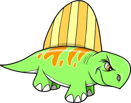 Tough mean Dinosaur  Stock Vector - 10201804