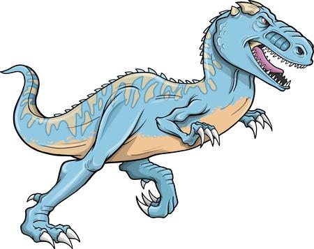 Tyrannosaurus Dinosaur Illustration  Ilustração