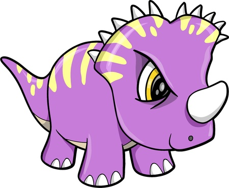 tough: Tough Cute Dinosaur Animal Vector Illustration Art