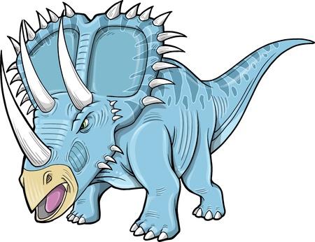 Triceratops Dinosaur  イラスト・ベクター素材