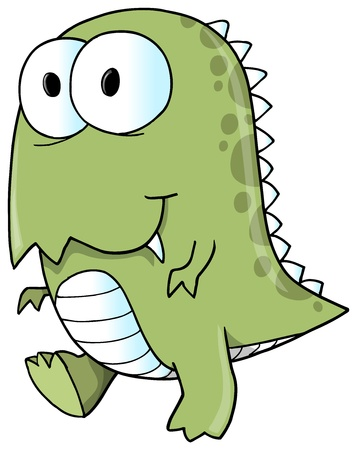 Tyrannosaurus Rex Dinosaur Vector Illustration  Vector