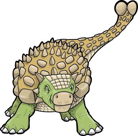 armoured: Ankylosaurus Dinosaur