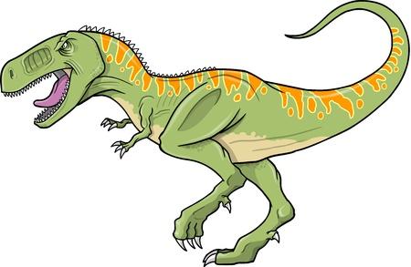 T-Rex Dinosaur  Ilustracja