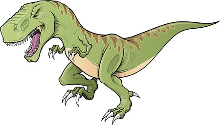 Tyrannosaurus Dinosaur Illustration  Illusztráció